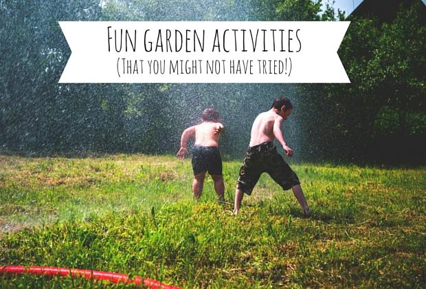 Garden Activities - Blog